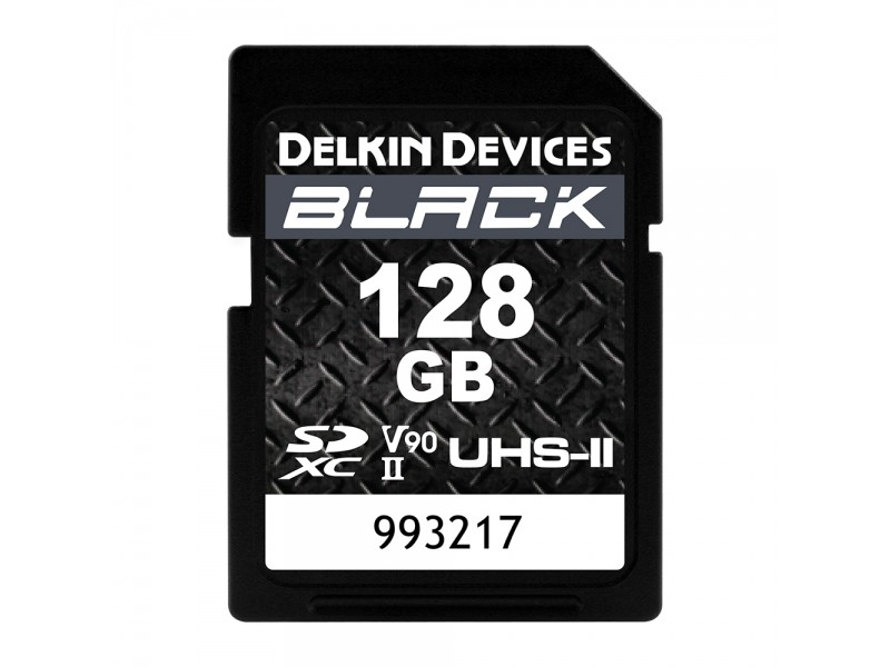 Delkin SD Black Rugged UHS-II V90 128gb